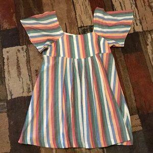 Madewell Striped Summer Dress (NWOT)